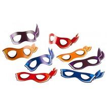 Ninja Turtles Maskers 8 stuks