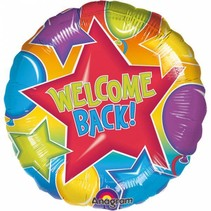 Helium Ballon Welkom Thuis 43cm leeg