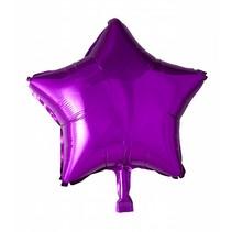 Helium Ballon Ster Fuchsia 46cm leeg