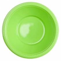 Lime Groene Tafelbakjes Plastic 335ml 10 stuks