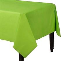 Lime Groen Tafelkleed Plastic 274x137cm