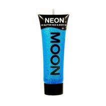 Body Paint Blauw Glitter Neon UV 12ml