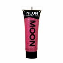 Body Paint Roze Glitter Neon UV 12ml