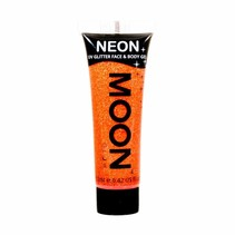Body Paint Oranje Glitter Neon UV 12ml