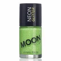 Nagellak Groen Glitter Neon UV 14ml