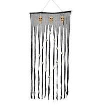 Halloween Gordijn met Schedels 180x90cm