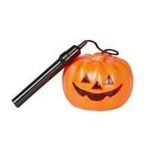 Halloween Pompoen Lampion met licht 10cm