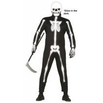 Halloween Kostuum Skelet Glow in the Dark