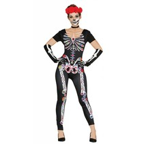Halloween Kostuum Dames Skelet Day of the Dead