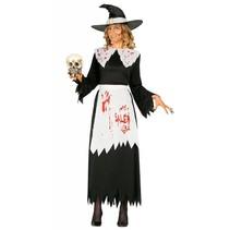 Halloween Kostuum Dames Heks Salem