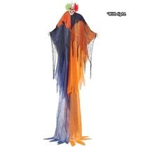 Halloween Pop Clown met licht 275x180cm
