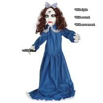 Halloween Pop Vampier Mes met licht, geluid en beweging 90cm