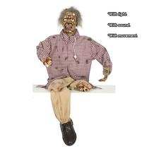 Halloween Pop Geamputeerde Zombie met licht, geluid en beweging 160cm