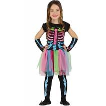 Halloween Kostuum Kind Jurkje Skelet Tutu