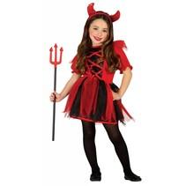 Halloween Kostuum Kind Duivel Meisje