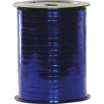Blauw Lint Metallic 400 meter x 5mm
