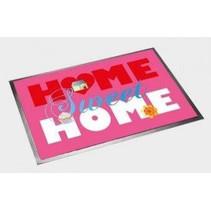 Deurmat Home Sweet Home 60x40cm