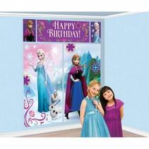 Frozen Wanddecoratie 5 delig