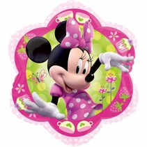 Minnie Mouse Helium Ballon Bloem 38cm leeg