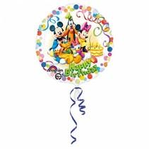Mickey Mouse Helium Ballon Birthday Deluxe 43cm leeg