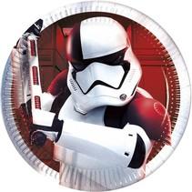 Star Wars Gebaksbordjes The Last Jedi 20cm 8 stuks