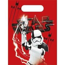 Star Wars Uitdeelzakjes The Last Jedi 6 stuks