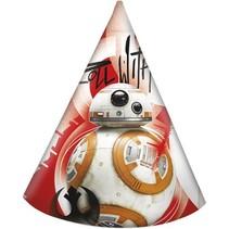 Star Wars Hoedjes The Last Jedi 6 stuks