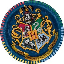 Harry Potter Gebaksbordjes 20cm 8 stuks