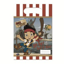 Jake and the Neverland Pirates Uitdeelzakjes 6 stuks