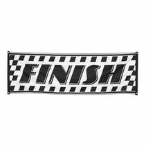Race Finish Vlag 2,2 meter
