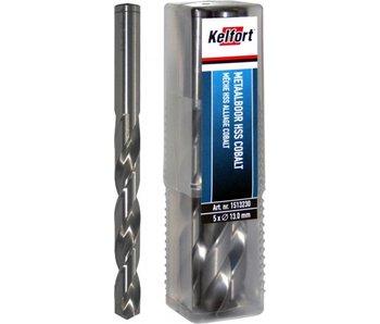 Kelfort Metaalboor HSS cobalt 5% 1,0 mm