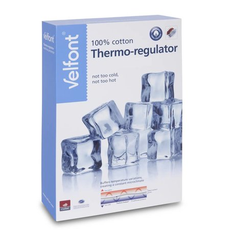 Velfont Thermo-Regulator (outlast) kussensloop Velfont