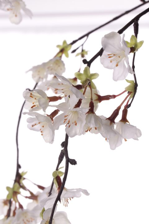 Kunstblumen, Kunstblatt, Blattzweige, Blaetter