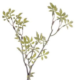 "Rose twig mini ""Little Joy"", x24 sets leafs, 43cm"