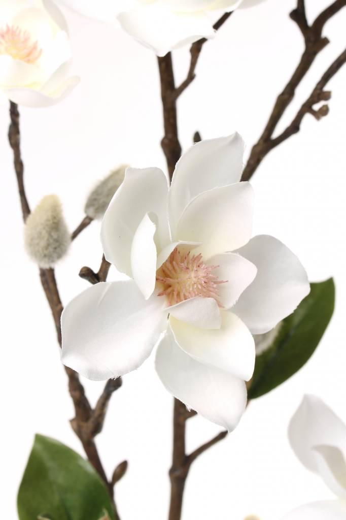 kunstblume magnolie seidenblumen top art int kunstblumen kunstpflanzen b2b. Black Bedroom Furniture Sets. Home Design Ideas