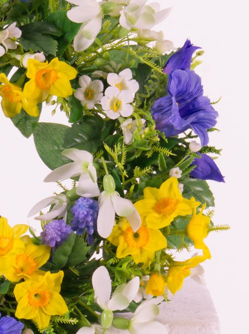 Artificial Wreath Spring Top Art Artificial Flowers And Plants