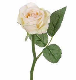"Rose ""Nina"" Ø5cm, x3lvs, 27cm"