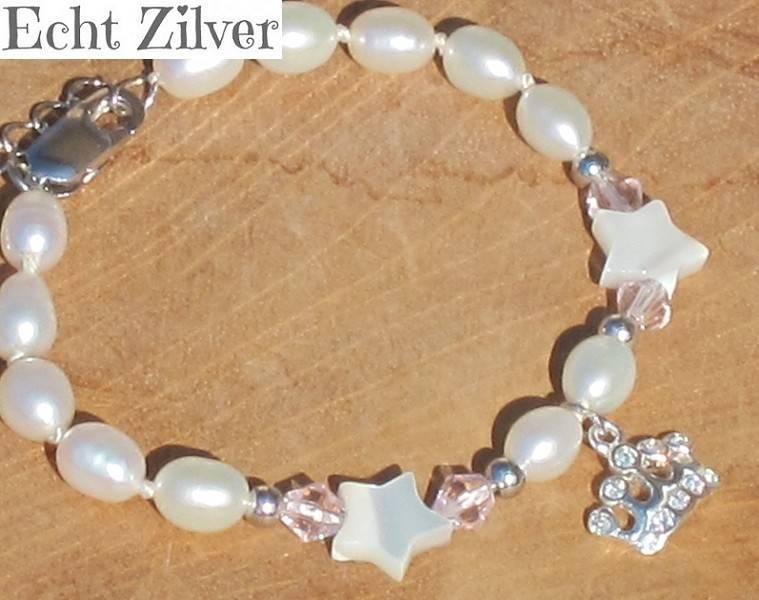 Home Zilveren armband 'Princess' {model little star}
