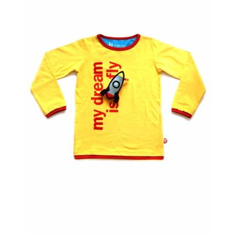 T-shirt My dream is to fly + Rocket