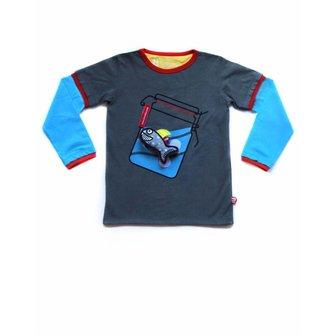 T-shirt Waving + Haai speeltje