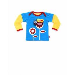 Camiseta bebé Girlflower y juguete