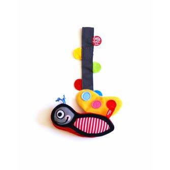 Pinza para chupete + juguete