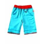 comfortabele oceaan blauwe driekwart /korte broek