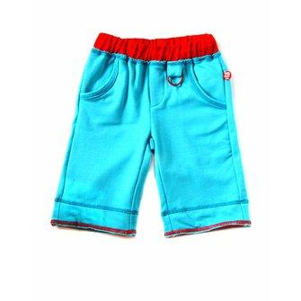 Shorts color azul cielo
