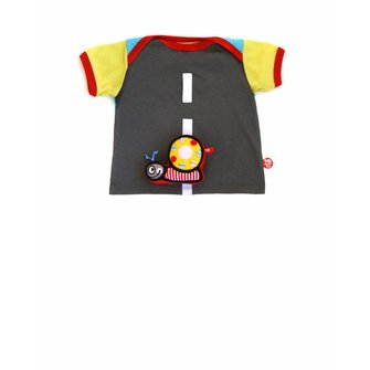 Baby T-shirt street and snail toy