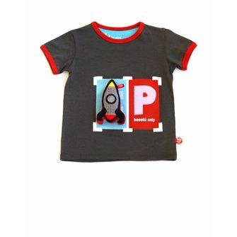 T-shirt parking BeeeTú Only met raket
