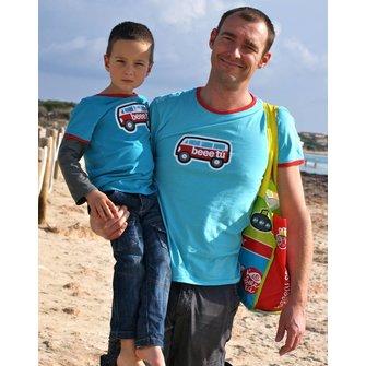 "Camiseta azul ""Van-ish"" Papá"