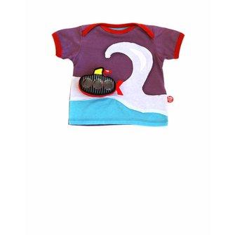 Baby T-shirt big wave