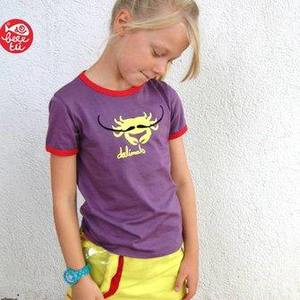T-shirt Dalimals Lila