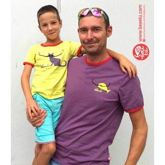Camiseta Adulto Dalimals lila